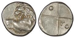 Ancient Coins - Thrace Chersonesos c. 386-338 B.C. Hemidrachm VF