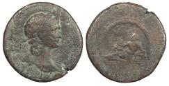Ancient Coins - Trajan 98-117 A.D. Sestertius Rome Mint About Fine