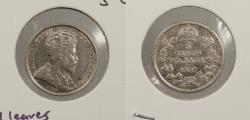 World Coins - CANADA: 1909 Round leaves. 5 Cents