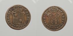 World Coins - SPAIN: Catalonia 1755 Ardite