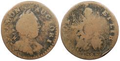 Us Coins - 1787 Vermont Copper Colonial Coinage RR-12; Br. 11-K; W-2110 Fine