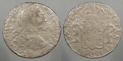 World Coins - MEXICO: (1777-1783)-Mo FF El Cazador shipwreck 8 Reales