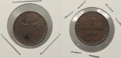 World Coins - ITALIAN STATES: Tuscany 1859 Centesimo