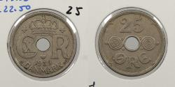 World Coins - DENMARK: 1939 25 Ore