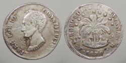World Coins - BOLIVIA: 1850-Potosi FM 8 Soles