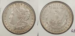 Us Coins - 1891 Morgan 1 Dollar (Silver)