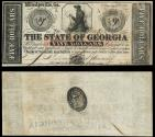Us Coins - Milledgeville, GA State of Georgia Jan 15, 1862 5 Dollars