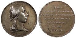 World Coins - GERMAN STATES Wurzburg By Brenet and Denon. 1810 AE 34mm Medal EF