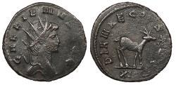 Ancient Coins - Gallienus 253-268 A.D. Antoninianus Rome Mint VF