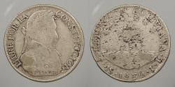 World Coins - BOLIVIA: 1830-Potosi JL 4 Soles