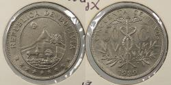 World Coins - BOLIVIA: 1939 50 Centavos