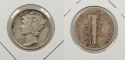 Us Coins - 1924-D Mercury 10 Cents (Dime)