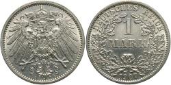 World Coins - GERMANY: 1907-A 1 Mark