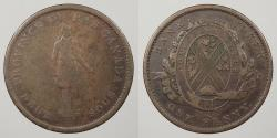 World Coins - CANADA: Lower Canada 1837 Penny (2 Sous) Token