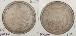 Us Coins - 1878 Morgan 1 Dollar (Silver) 7 Tail Feathers; Reverse of 1879