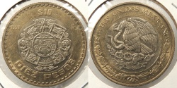 World Coins - MEXICO: 1998 10 Pesos