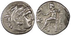 Ancient Coins - Kings of Macedon Alexander III (The Great) 336-323 B.C. Drachm EF
