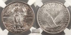 Us Coins - 1917 Standing Liberty 25 Cents (Quarter) Type I NGC MS-63 FH