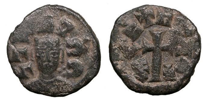 Ancient Coins - Later Christian Kings Joel (Ioel) Circa 580-620 Unit VF