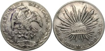 World Coins - MEXICO: 1889 AS/ML 8 Reales