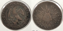 World Coins - MEXICO: 1852/1/0-Pi MC Real