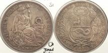 World Coins - PERU: 1894 Sol #WC63421