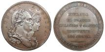 World Coins - SPAIN by Droz 1801 AE 40 mm medal AU