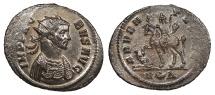 Ancient Coins - Probus 276-282 A.D. Antoninianus Rome Mint EF