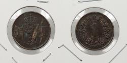 World Coins - NORWAY: 1878 Semi-key. Ore