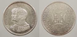 World Coins - PORTUGAL: 1898 1000 Reis
