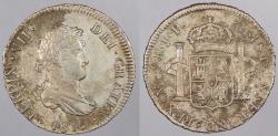 World Coins - PERU: 1815-LIMAE JP Sea salvage. 2 Reales