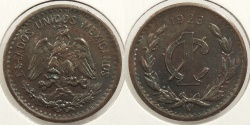 World Coins - MEXICO: 1923 Centavo #WC63492