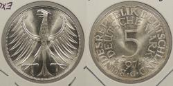 World Coins - GERMANY (WEST): 1974-G 5 Mark
