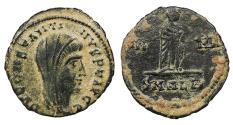 Ancient Coins - Divus Constantine Died 337 A.D. AE4 Alexandria Mint VF