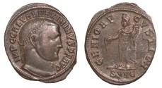 Ancient Coins - Maximinus II 309-313 A.D. Follis Nicomedia Mint Good VF