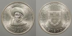 World Coins - PORTUGAL: 1960 20 Escudos