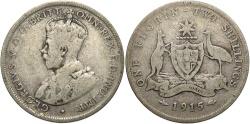 World Coins - AUSTRALIA: 1915 1 Florin