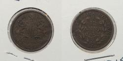 World Coins - INDIA: 1848 1/12 Anna