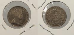 World Coins - CANADA: 1910 Edward VII 5 Cents