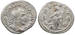 Ancient Coins - Philip I 244-249 A.D. Antoninianus Rome Mint VF