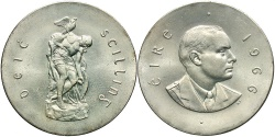 World Coins - IRELAND: 1966 50th Anniversary of the Easter Uprising 10 Shillings