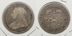 World Coins - GREAT BRITAIN: 1900 Victoria Shilling