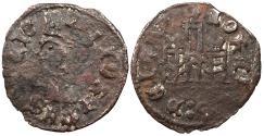 World Coins - SPAIN Castille & Leon (Castilla y Leon) Enrique II 1369-1379 Contemporary Counterfeit Cornado VF