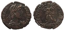 Ancient Coins - Valentinian I 364-375 A.D. AE3 Aquileia Mint Good VF
