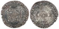 World Coins - FRANCE Flanders Charles 'the Bald', Duke of Burgundy 1467-1477 Double Patard (Dubbele Stuiver) VF