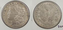 Us Coins - 1899 Morgan 1 Dollar (Silver)