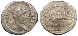 Ancient Coins - Septimius Severus 193-211 A.D. Denarius Rome Mint VF