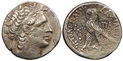 Ancient Coins - Ptolemaic Kings of Egypt Ptolemy XII, Neos Dionysos 80-51 B.C. Tetradrachm VF