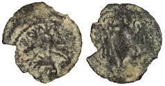 Ancient Coins - Judaea Roman Procurators Valerius Gratus, under Tiberius 15-26 A.D. Prutah About Fine
