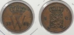 World Coins - NETHERLANDS: 1861 Cent